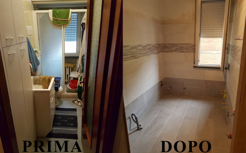 Rifacimento bagno impresa edile reggio emilia - Bagno reggio emilia ...